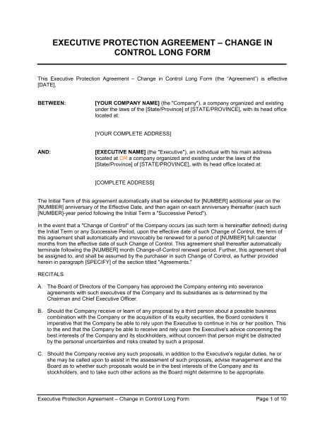 customer protection agreement template customer protection agreement template executive