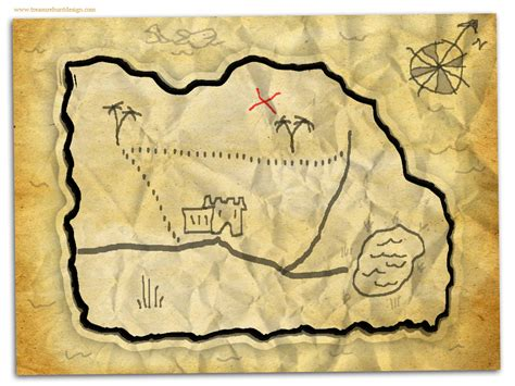 make a map how to make a treasure map treasure hunt design