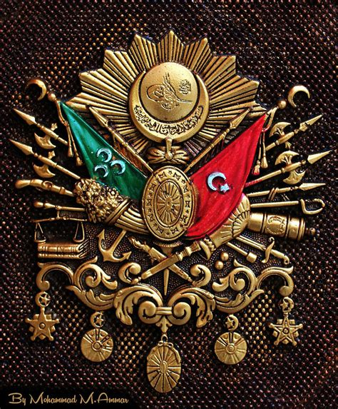 ottoman sign ottoman military sign a typical military sign from the