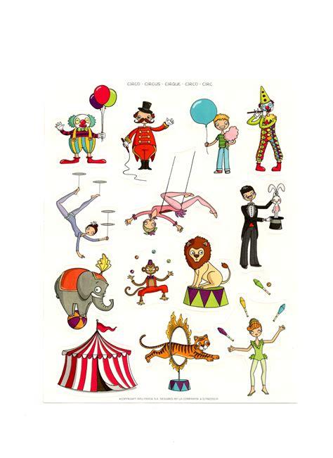 Decor Cirque A Imprimer by Gommettes Le Cirque Magommette