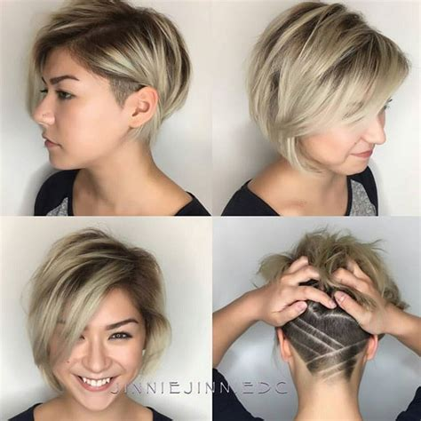 hairstyling bob mit sidecut 25 best ideas about edgy bob hairstyles on pinterest