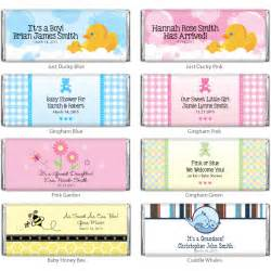 Baby shower personalized hershey chocolate bar baby shower favors