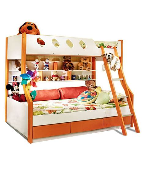 Best Price On Bunk Beds Hometown Deccan Bunk Bed Buy Hometown Deccan Bunk Bed At Best Prices In India On Snapdeal