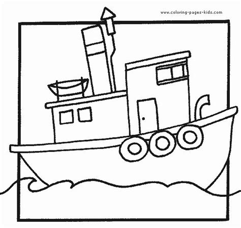 cartoon boat color 18 best images about coloring pages on pinterest