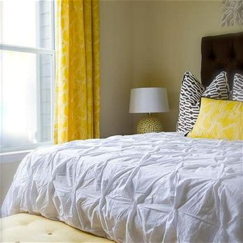 yellow and brown bedroom brown and yellow bedroom transitional bedroom