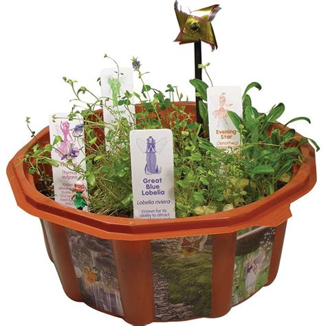 fairy triad garden terrarium dome plant kit educational toys planet