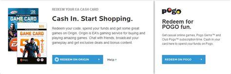 Ea Gift Card - ea cash card information