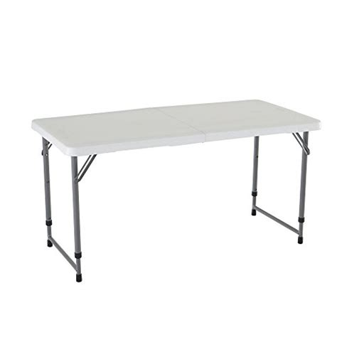 Folding Utility Table small portable table folding utility adjustable