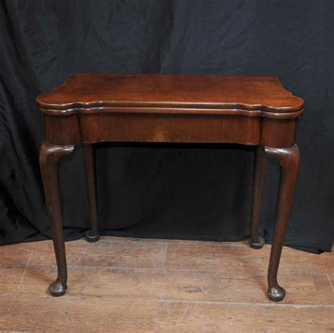 vintage queen anne desk antique queen anne card mahogany games