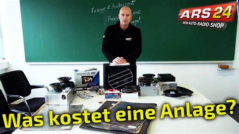 Auto Soundanlage by Was Kostet Eine Gute Soundanlage F 252 Rs Auto Ars24