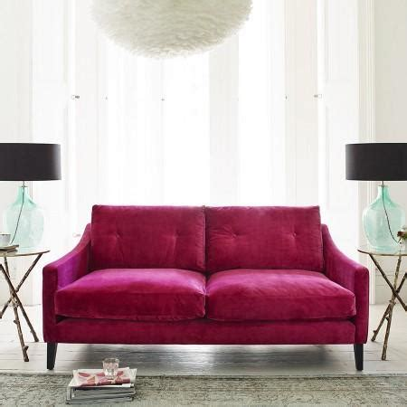 fuschia couch vielle frances meridian fuschia sofa