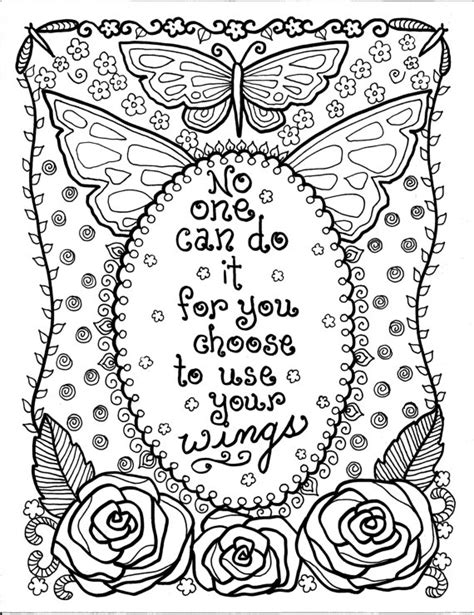mandala coloring pages with quotes unavailable listing on etsy