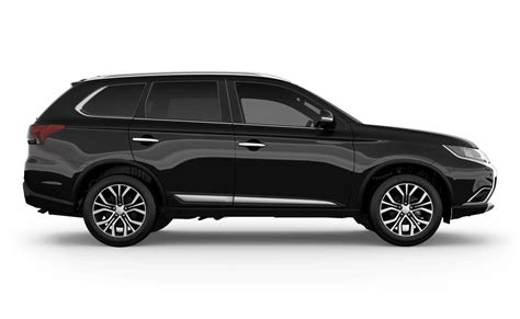 black mitsubishi outlander outlander four wheel drives for sale berwick mitsubishi