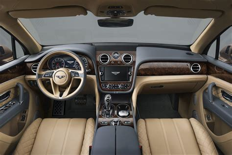 new bentley interior bentley bentayga suv officially revealed it s uber