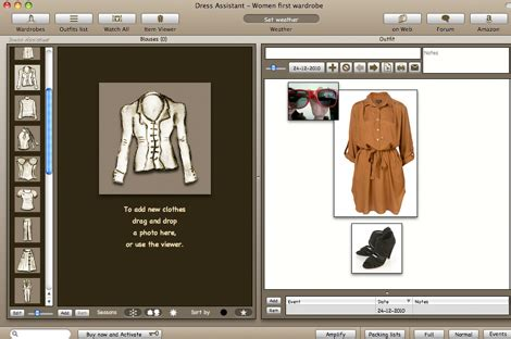 Database Your Wardrobe With Dress Assistant by Dress Assistant Tu Cl 243 Set Como Biblioteca Viste