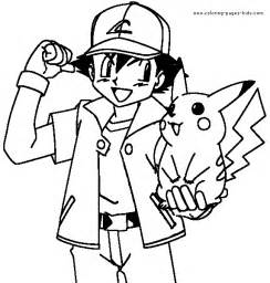 pokemon character coloring pages coloring pages free