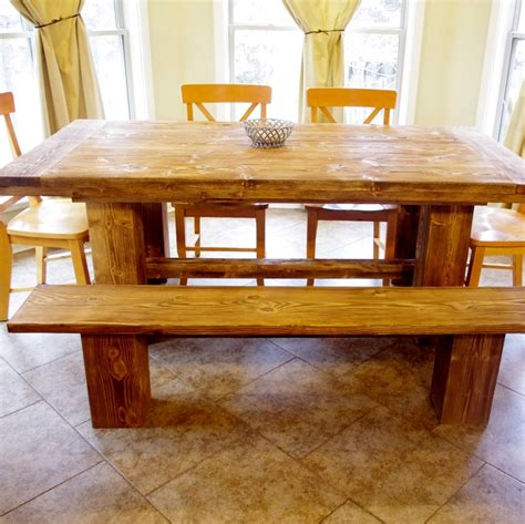 farmhouse table excellent addition to a country kitchen