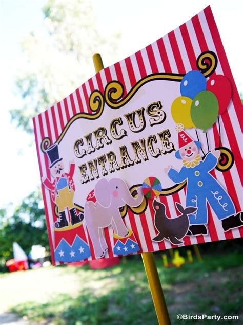 diy carnival birthday my joint big top circus carnival birthday