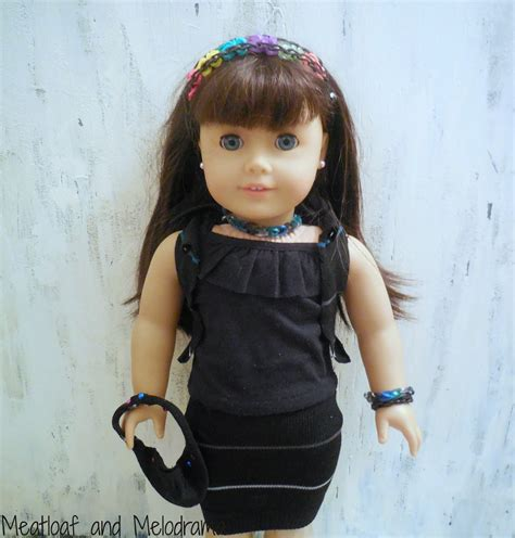 How To Make American Doll Stuff Out Of Paper - no sew american doll clothes and accessories