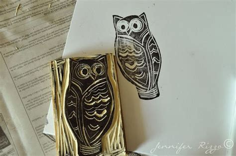 carve your own rubber st the 32 best images about owl st set cards on