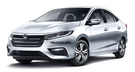 All New Honda City 2018 by Honda City With New Insight Hybrid Looks Rendered