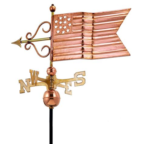 american banner weathervane good directions gd667p 31 quot l x 18 quot w x 33 quot h american flag