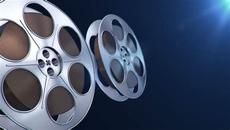 film blue black cinema background blue stock footage video 1561876