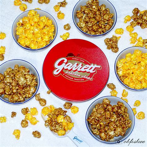 Garret Popcorn Signature Small oh fish iee new year gift from garrett popcorn shops 2016 year of the monkey tins
