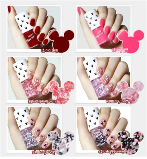 Jual Kutek Nail O P I Gel Color Sand nail diary 05 etude house x disney xoxo minnie collection minnie in the nails in 6 minnie
