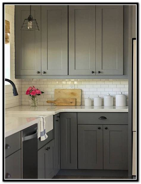 Craft Made Kitchen Cabinets Kraftmaid Shaker Kitchen Cabinets Kraftmaid Pinterest Grey Cabinets Gray Cabinets And The