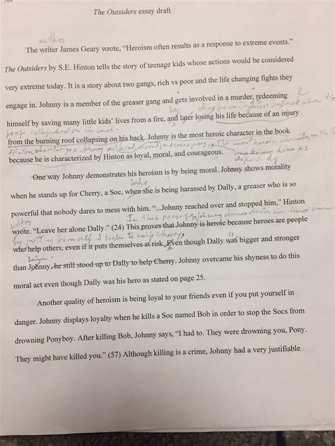theme exles in the outsiders the outsiders theme essay sle college admission the
