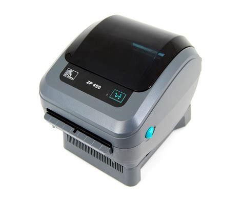 Zebra ZP-450 Thermal Label Printer ZP450 + Driver & Manual ...