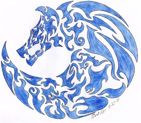 wolf symbol by wolfraid on deviantart
