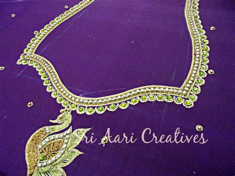 pictures of designs sri aari creatives aari embroidery simple designs