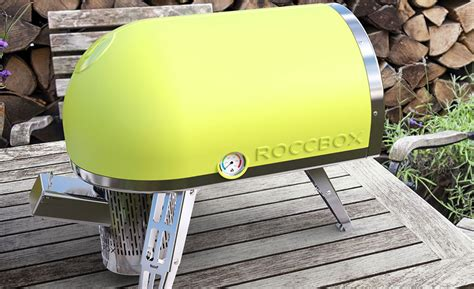 personal pizza oven roccbox portable oven cooks a pizza in 90 seconds