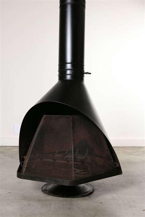 Firehood Fireplace Wendell Lovett Mid Century Modern Firehood Fireplace At