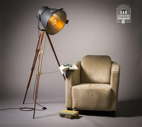 vintage theater floor lamp tripod lamp kliegl bros light
