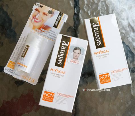 Skin79 Spf50 Pa Non Chemical Sunblock Spf50 bloggang cinnamongal review smooth e physical