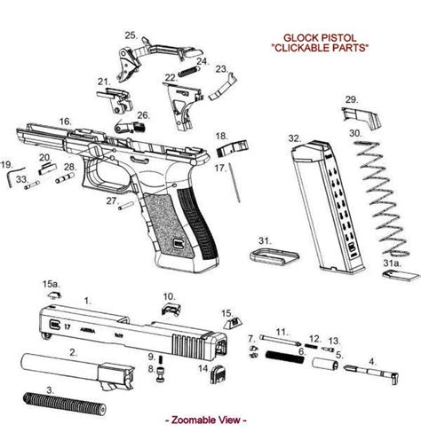 glock exploded diagram glock 18 schematics exploded glock parts list vesselyn