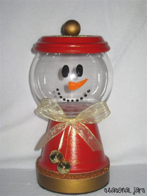 how to make medium size ornaments out of construction paper medium sized clay snowman jar dish