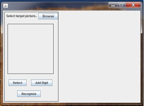 ui borderlayout eclipse browse for image file and display it using java