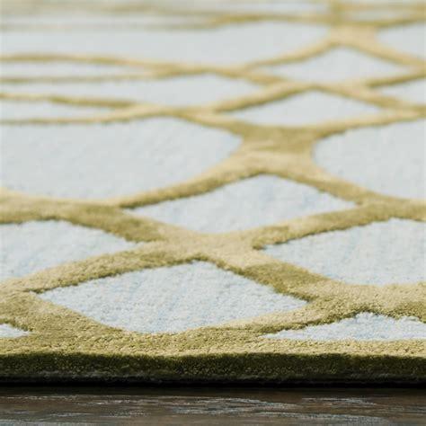 circular trellis wool area rug circular trellis wool area rug in ivory gold 9 x 12