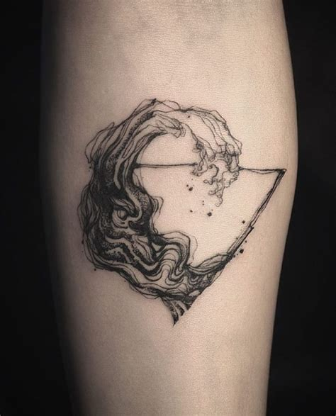 geometric tattoo wave 43 outstanding wave tattoo designs for ocean lovers