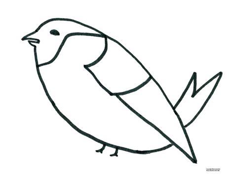 Modele Dessin Oiseau Facilel L