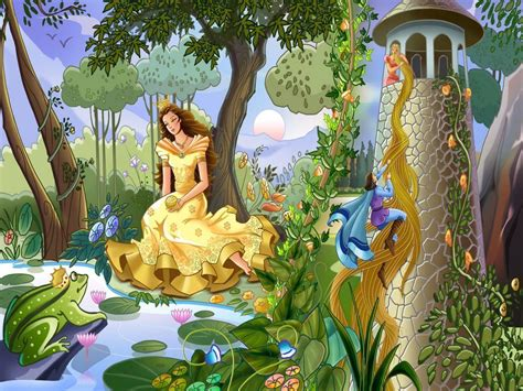 fairy tale backgrounds wallpaper cave