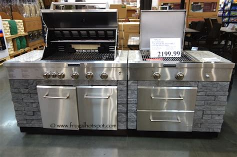 kitchen island grill costco deal kitchenaid 7 burner island grill frugal hotspot