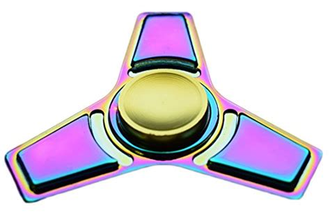 Fidget Spinner Metalik Sharp 25 Cm mermaker best fidget spinner for relieving adhd anxiety boredom edc tri spinner fidget