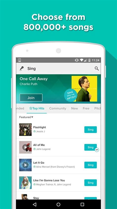 karaoke app android sing karaoke by android apps on play