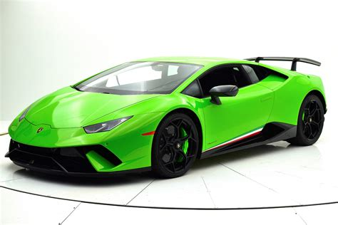 lamborghini huracan performante 2018 2018 lamborghini huracan performante for sale