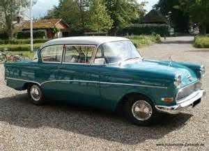 Opel P1 Opel Rekord P1 Bj 1958 Automobile Zeitreise